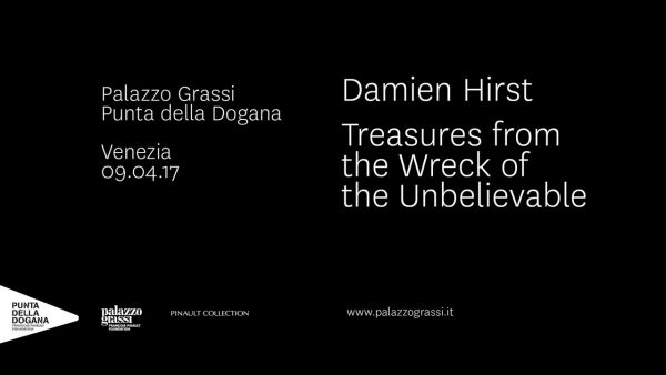 Carnet de voyages, Damien Hirst à Venise, Palazzo Grassi, Punta della Dogana