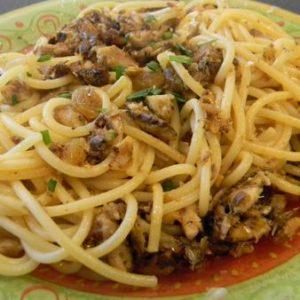 Carnet de Voyage, Italie, recette Pasta con le sarde
