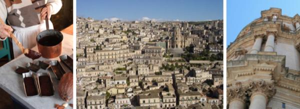 Carnet de voyages, Italie, Sicile, Modica