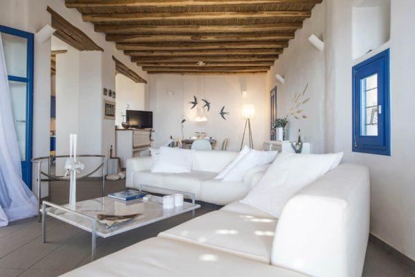 Location Maison de Vacances, Villa Diona, Onoliving, Cyclades - Paros