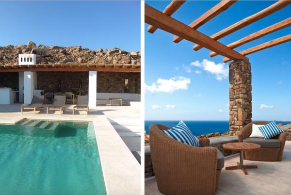 Location de maison, Pelicanos, Grèce, Cyclades - Mykonos