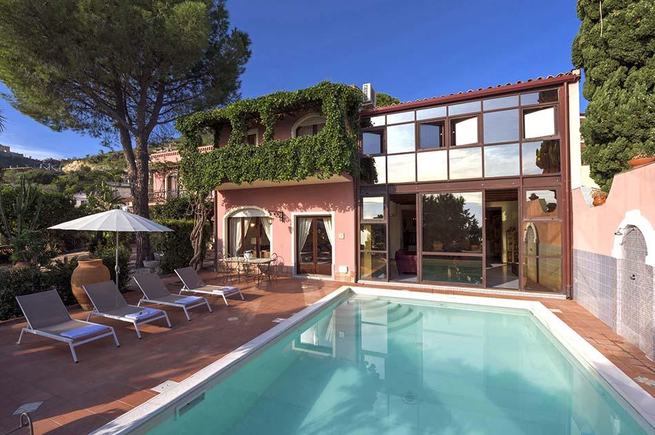 Location de maison, Villa Omena, Italie, Sicile - Taormina