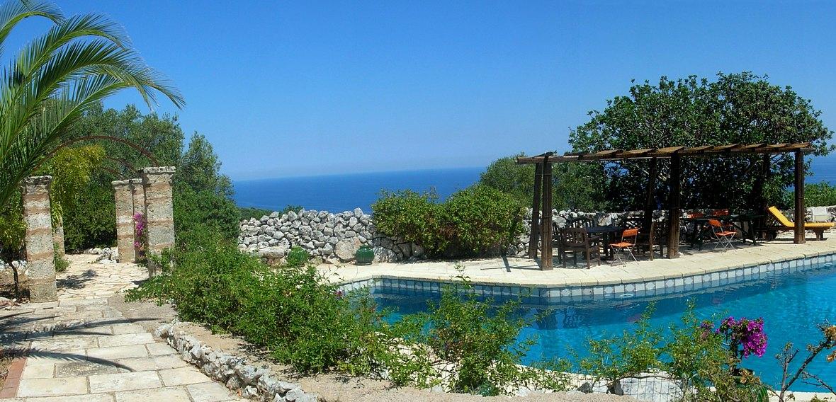 Pouilles santa maria di leuca villa titi location for Location maison piscine italie