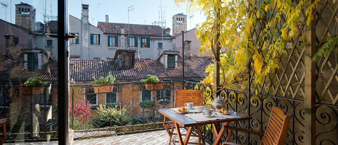 Location de maison, Toni Terrasse Onoliving, Italie, Vénétie Venise Santa Croce