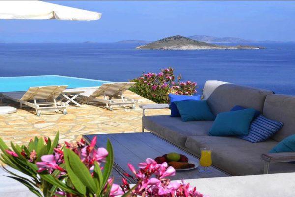 Villa PAT02, Onoliving, Location Maison de Vacances, Grèce, Dodecanèse - Patmos