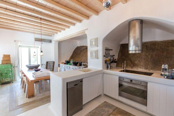 Location de maison, Psarou Bay, Grèce, Cyclades - Mykonos