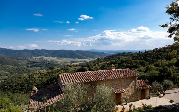 Location de maison, Casa Rionne, Onoliving, Italie, Toscane - Cortone