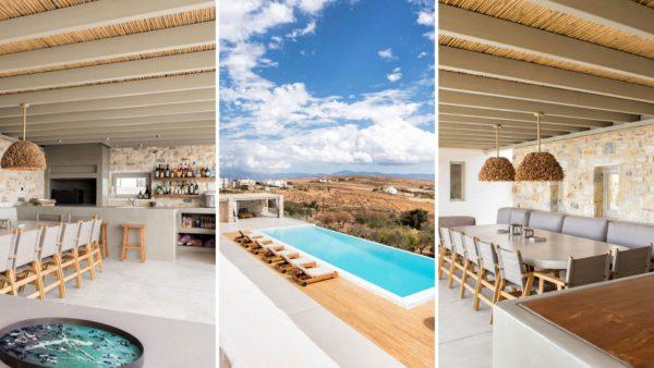 Location de maison vacances, Cezanne, Onoliving, Cyclades, Paros