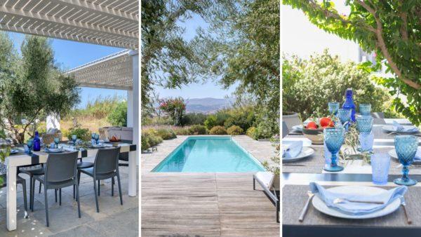 Location de maison vacances, Le Rêve dans le jardin, Onoliving, Cyclades, Paros