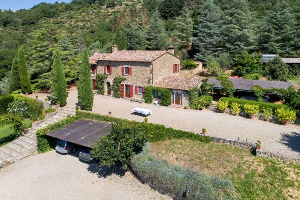 Location de maison vacances Italie - La Maison des Cyprés - Onoliving - Italie -Toscane - Cortone
