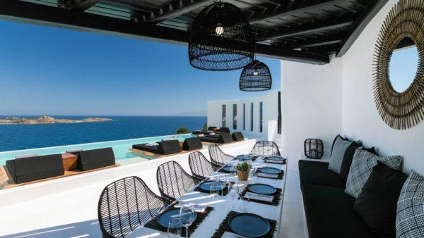 Location de maison vacances, Onyx, Onoliving, Cyclades, Mykonos